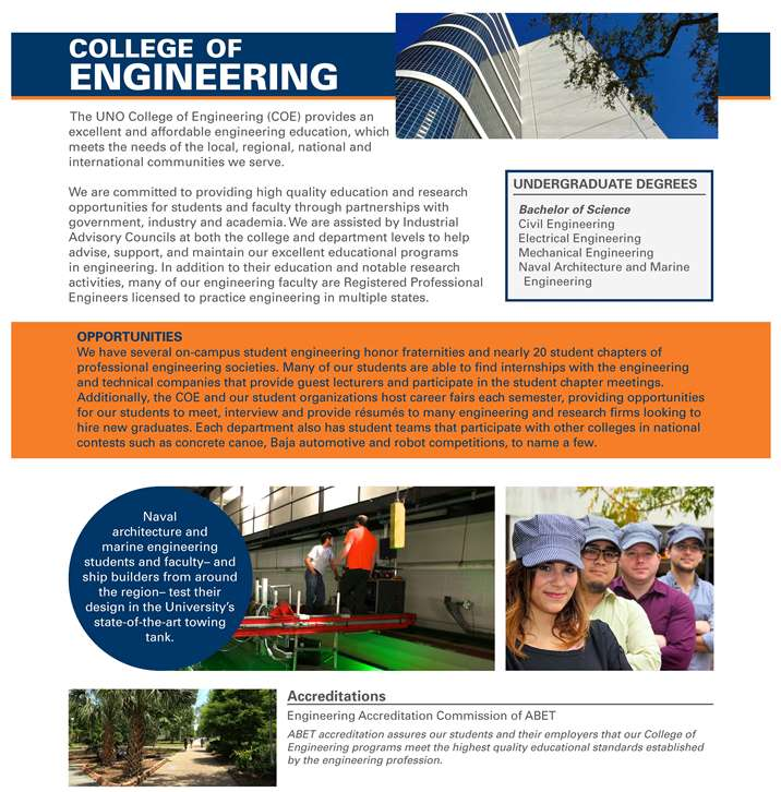 About the College of Engineering